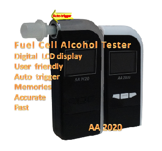 AA2020 Fuel Cell Alcohol Tester  (available in coming Aug)