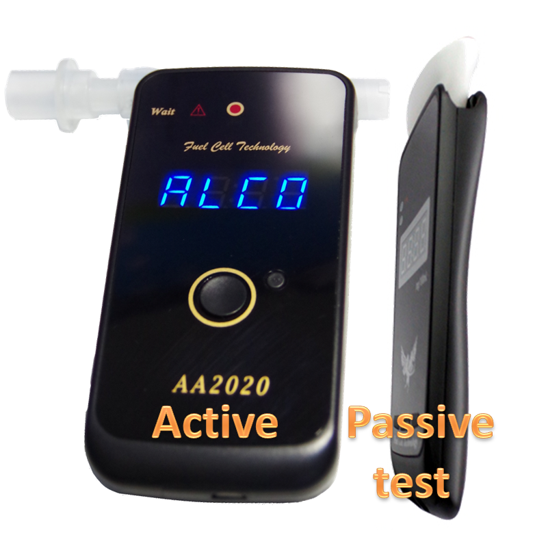 AA2020(1st303-LED)  Fuel Cell Alcohol Tester