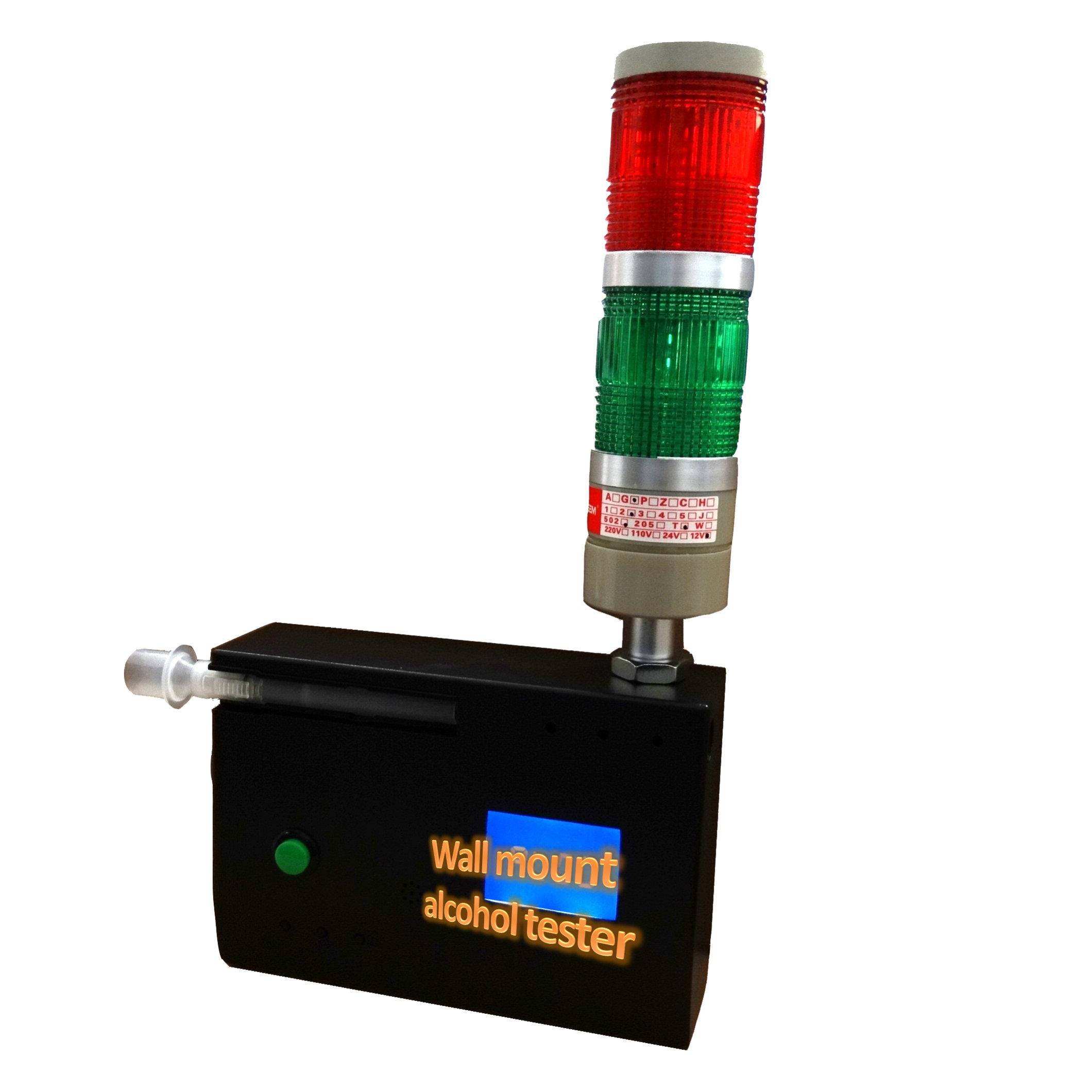 Alcohol tester, passive quick wall mount fuel cell screening tester 1st303QT