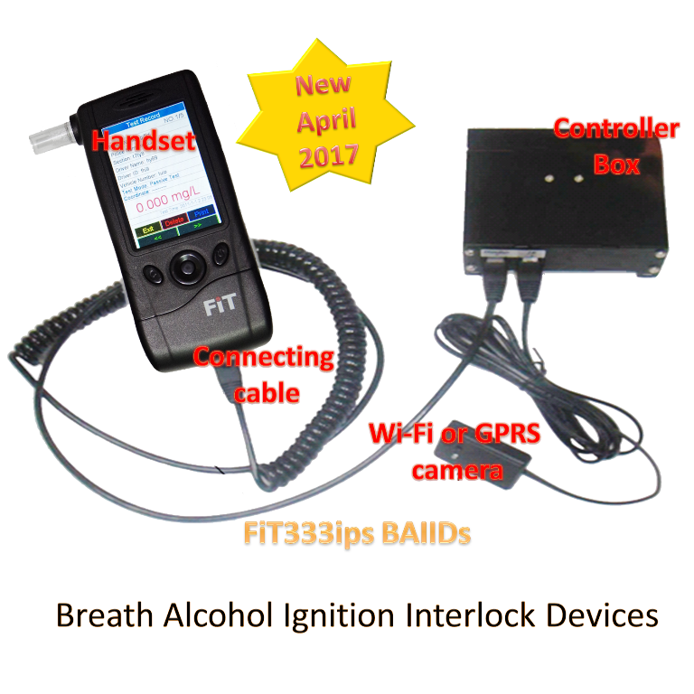 FiT288ips Breath Alcohol Tester Ignition Interlock Devices (BAIIDs)